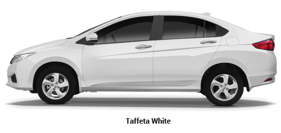 Buy new honda City Taffeta White